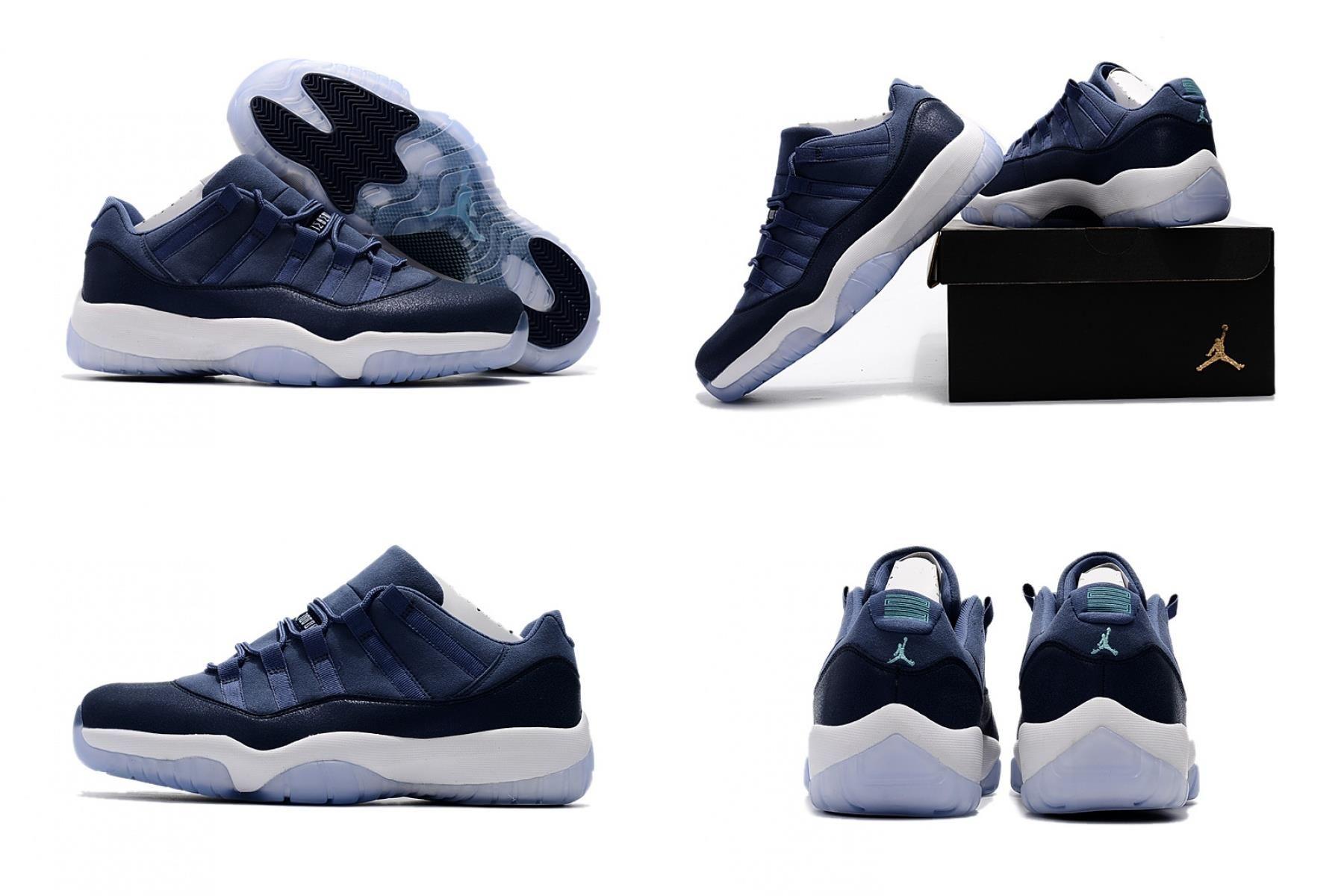 Air Jordan 11 Low Blue Moon For