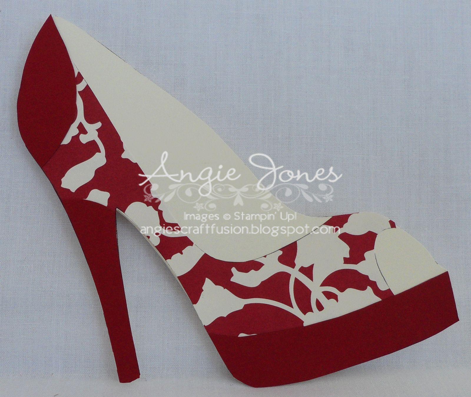 High Heel Shoe Card Shoe Decor Paper Shoes Shoe For High Heel Shoe Template For Card Cumed Org Paper Shoes Shoe Template Shaped Cards