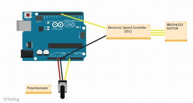 Control Brushless Motor Using Arduino | Arduino