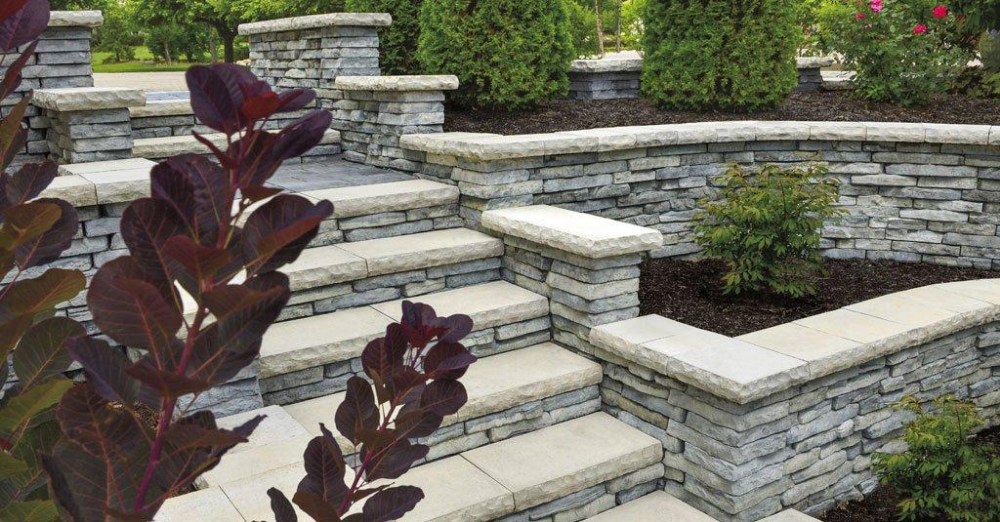 Oldcastle Townsend Retaining Wall At Duckduckgo In 2020 Retaining Wall Design Retaining Wall Wall Design