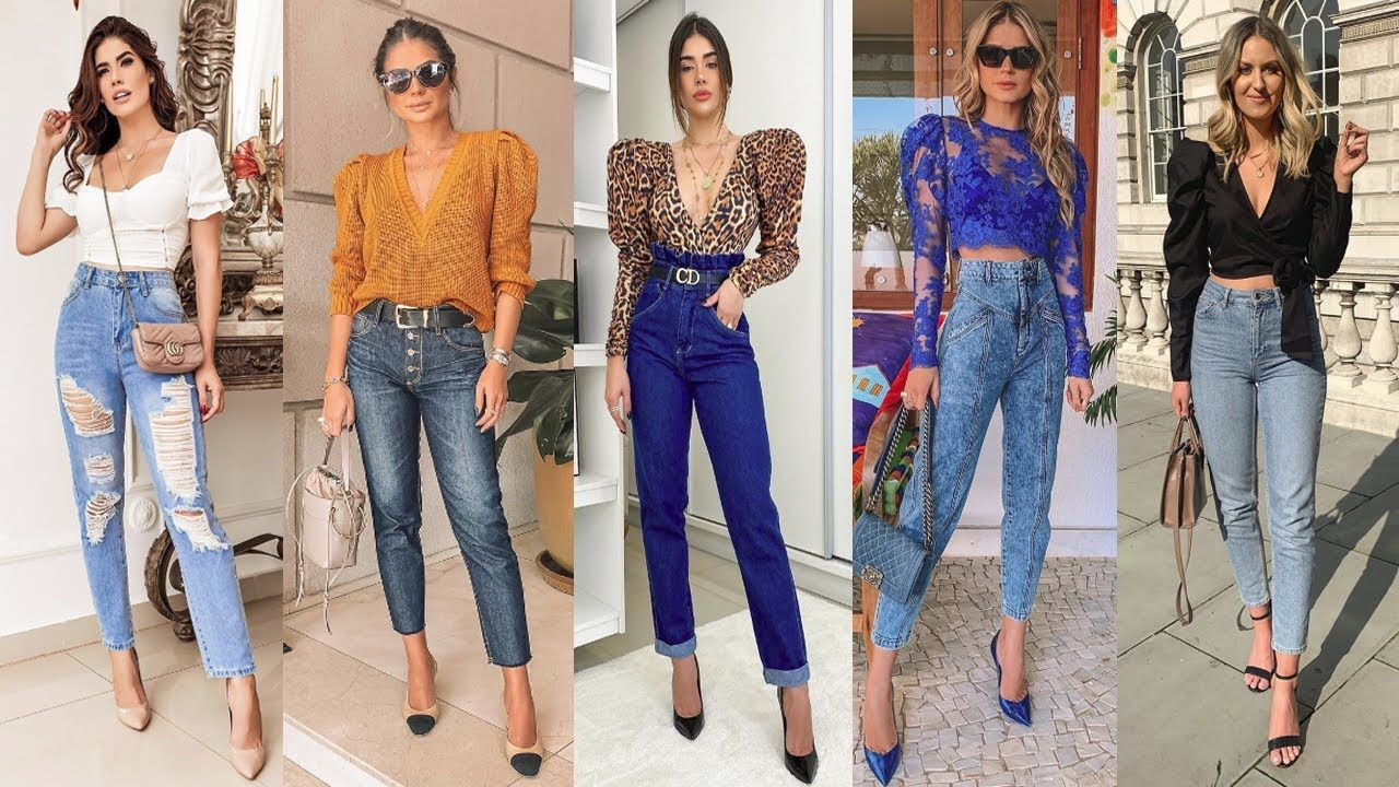 Moda 2020 2021 Outfits Casuales Con Jeans Looks Basicos Y Sencillos Como Outfits Casuales Outfits Casuales Con Jeans Outfits