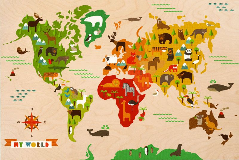 World map collage google search class project platter world map collage google search gumiabroncs Image collections