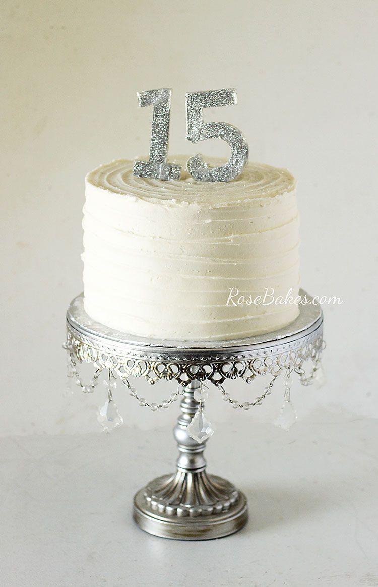15 Year Anniversary Cake