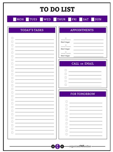 10 MORE Free Printable Daily Planners Schedule printable, Free - free daily calendar template with times