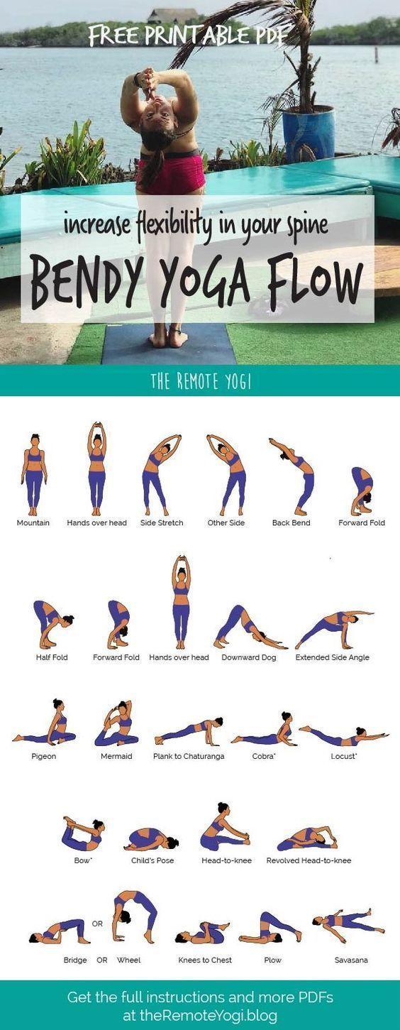 Yoga Flow for a Flexible Spine - FREE PDF - Yoga & Fitness -  Yoga Flow for a Flexible Spine – FREE...