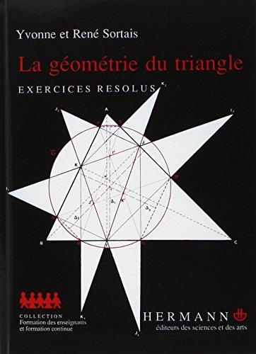La Geometrie Du Triangle Exercices Resolus En Ligne Triangle Geometrie Mathematiques