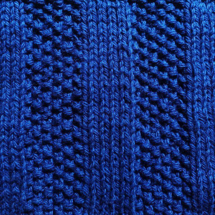 Moss Rib Knitting Stitch | Rib stitch knitting, Loom ...