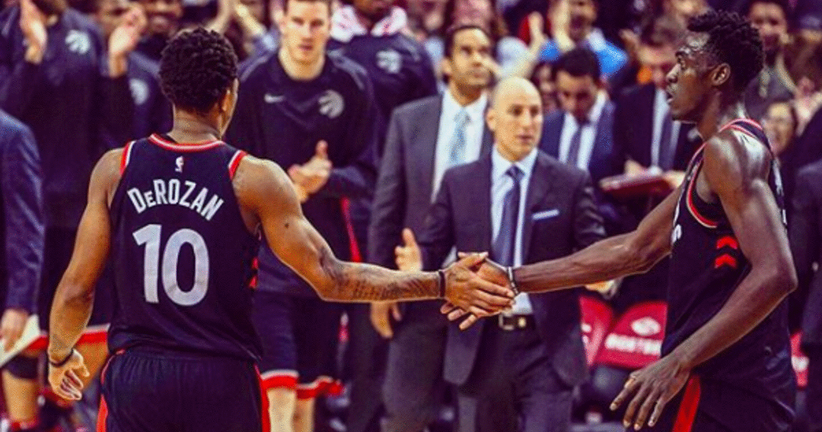 Pascal Siakam Can T Wait To Relive His Brotherhood With Demar Derozan This Weekend Relive Brotherhood Kyle Lowry