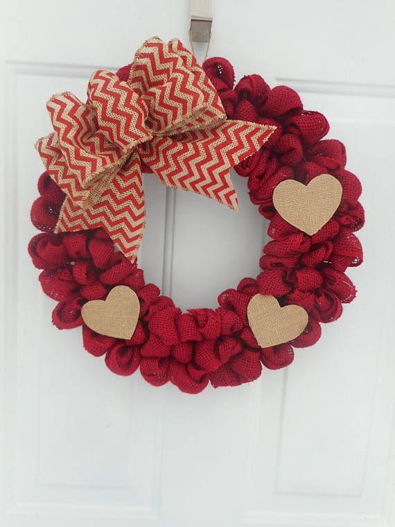 valentine wreath craft idea for valentines day - 570×760
