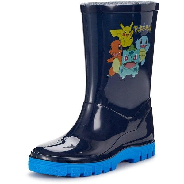7bf8dba5996 Pokemon Medlock Welly ($9.95) ❤ liked on Polyvore featuring shoes ...