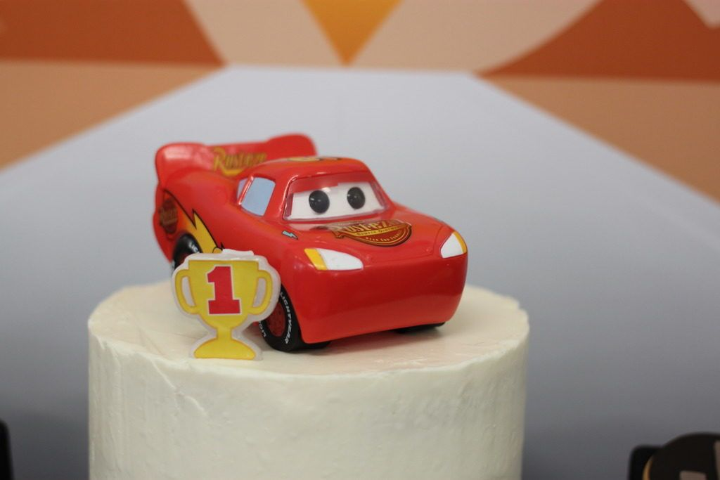 Little Wish Parties Disney Cars Themed First Birthday Party