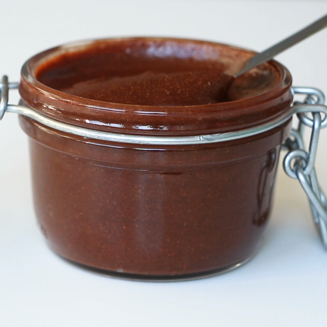 Sugar-Free Nuttela Spread Recipe (Low Carb, Paleo) - 5 Ingredients #sugarfreerecipes