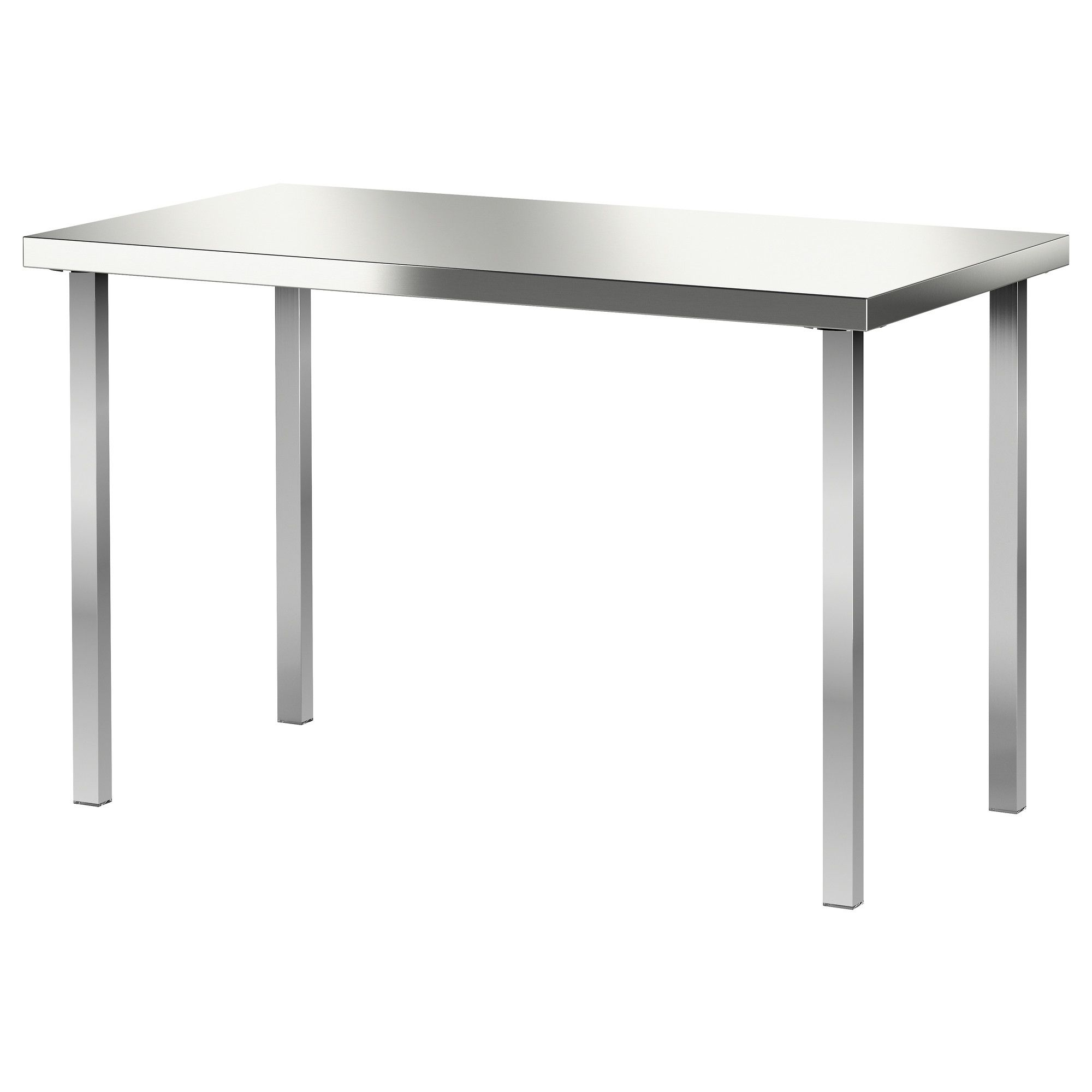 Stainless Steel Kitchen Table Ikea Kitchen Sohor