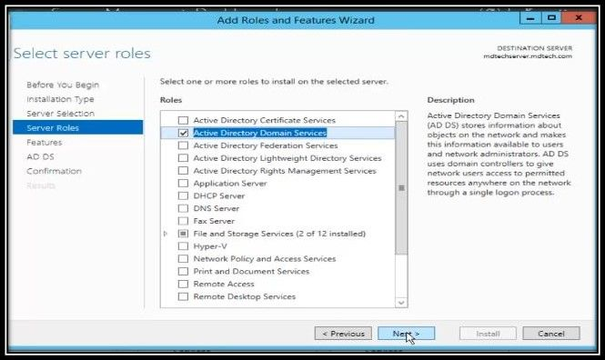 Install And Configure Active Directory Dns On Windows Server 2012