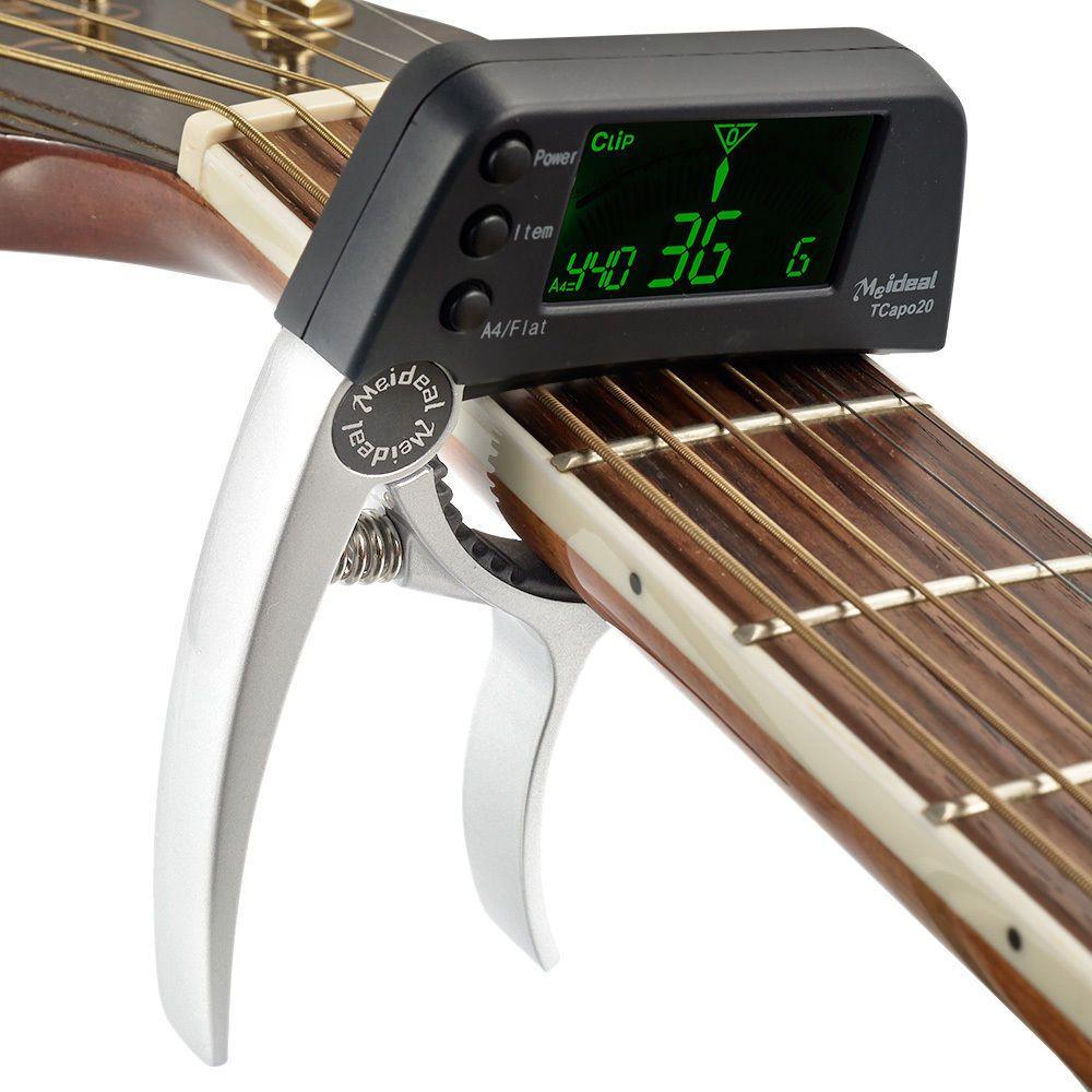 Guitar Ukulele Capo Tuner Changing Key Tuning For Guitar Ukulele Acoustic Guitar Capo Guitar Tuners Guitar Capo