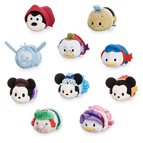 Christmas Carol Tsum Tsum Collection, you can order them by clicking the pin today.
