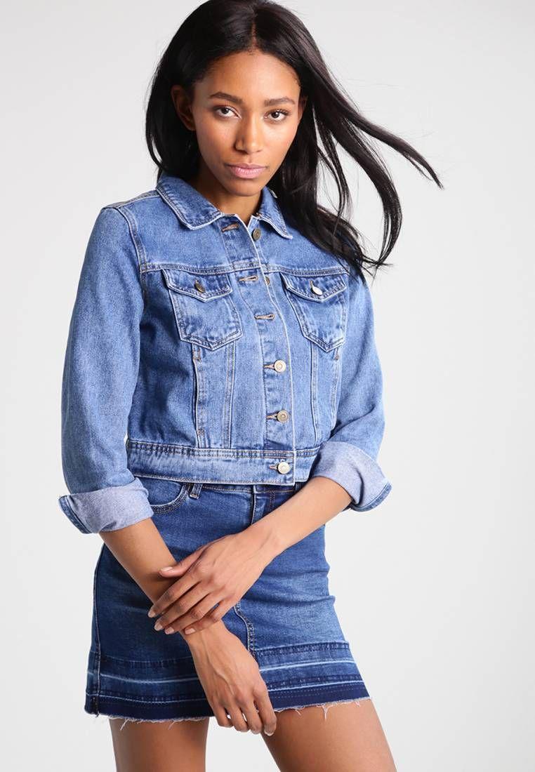 official photos 1a4c6 a99a5 Giacca di jeans - blue denim @ Zalando.it 🛒 | Zalando ...