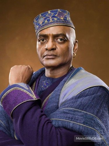 Kingsley Shacklebolt was a pure-blood wizard and worked for the Ministry of Magic as an Auror. He joined the Order of the Phoenix in 1995 after being convinced of the return of Lord Voldemort. Kinsley worked undercover within the Ministry and fought in the Battle of Hogwarts and eventually became the Minister for Magic