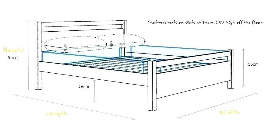 Luxury Measurements Of Queen Size Bed Frame Queen Size Bed