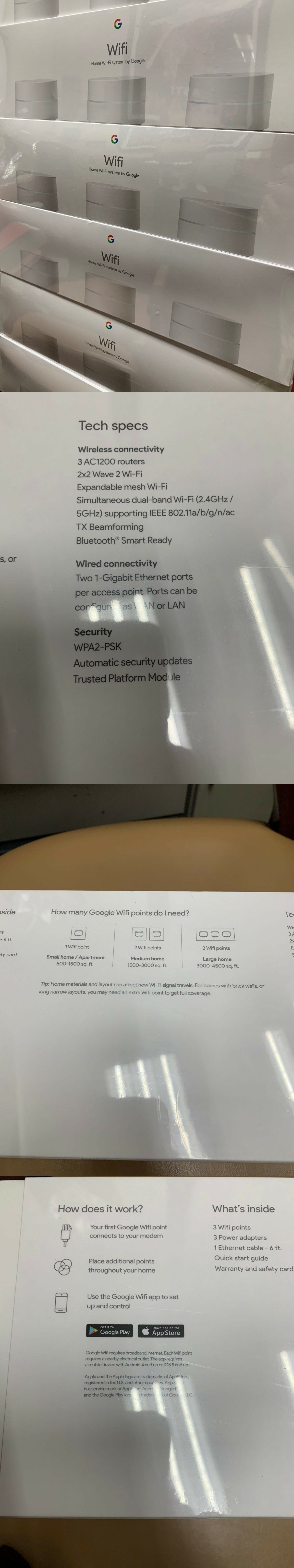 Home Networking and Connectivity 11176: Google Wifi Ac1200