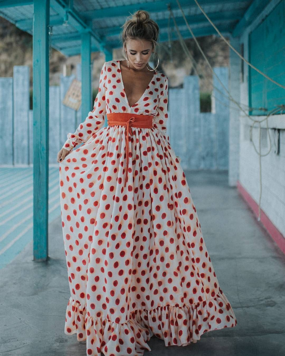 d35084fce Vestidos De Moda, Vestidos Largos, Trajes De Gitana, Ropa Gitana, Vestidos  De