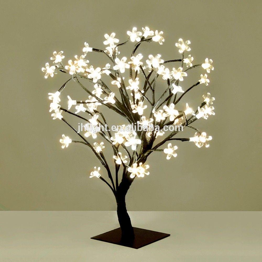 Light Up Tree Branches For Indoor Wedding Jpg