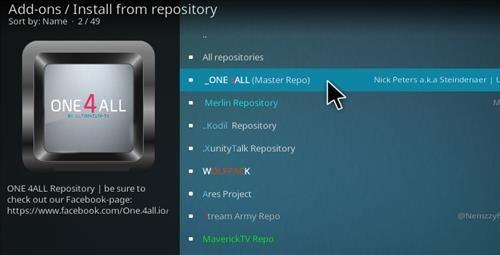 How To Install Kodi Apps Repository 17 Krypton Step 17