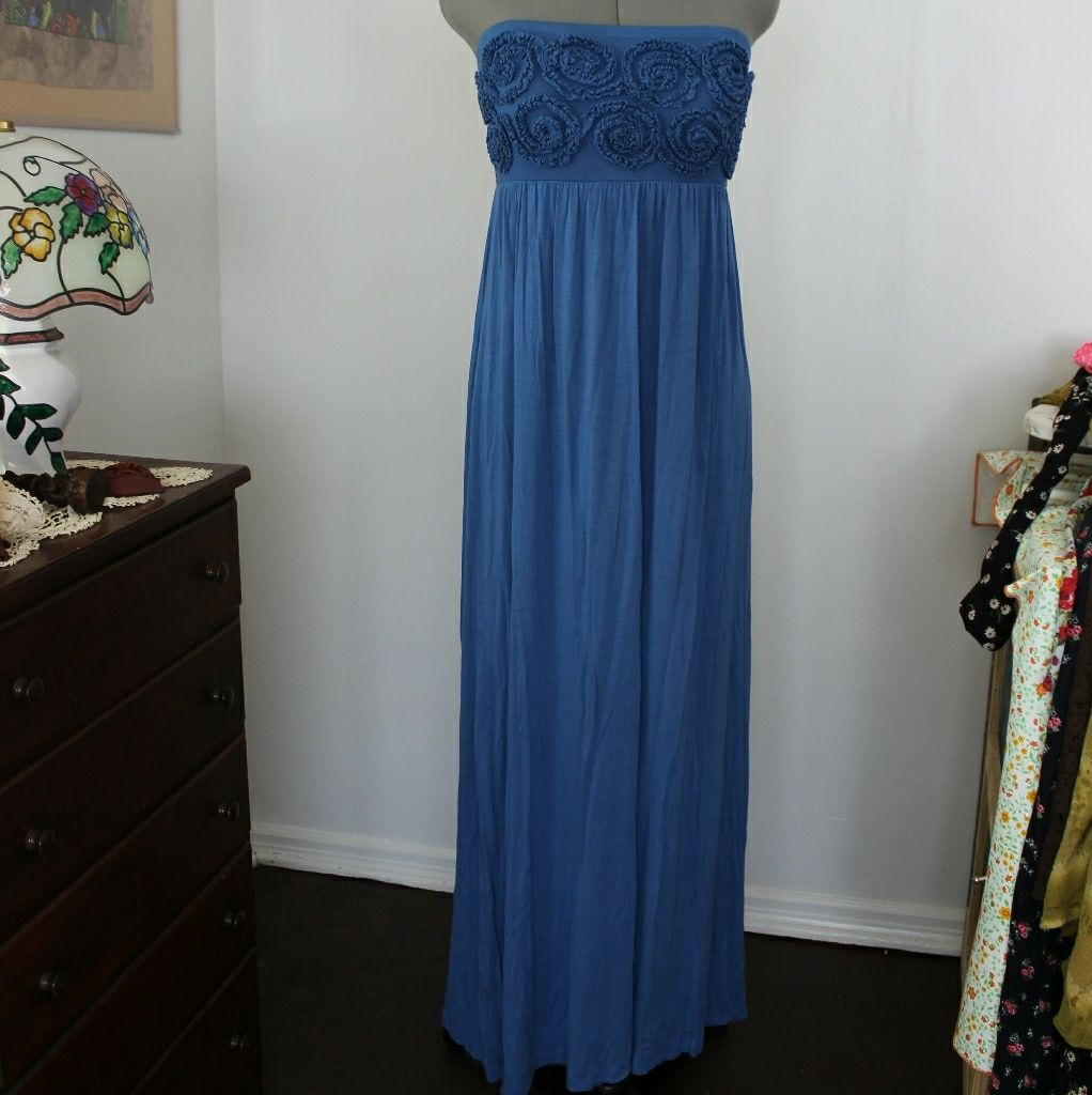Sleeveless blue maxi dress blue maxi dresses and products