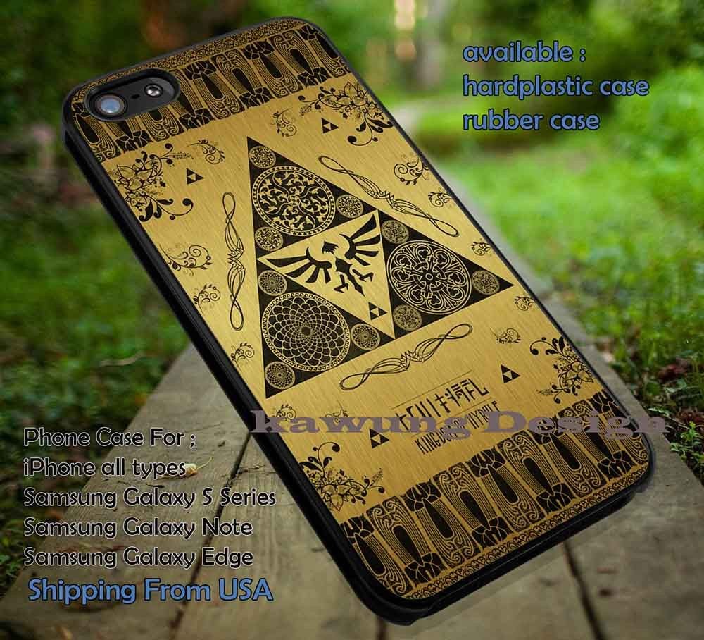 Triangle Symbol On Gold iPhone 6s 6 6s 5c 5s Cases Samsung