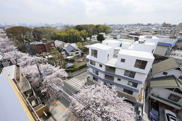 New Approaches To Apartment Living In Japan Sakura Apartment By
