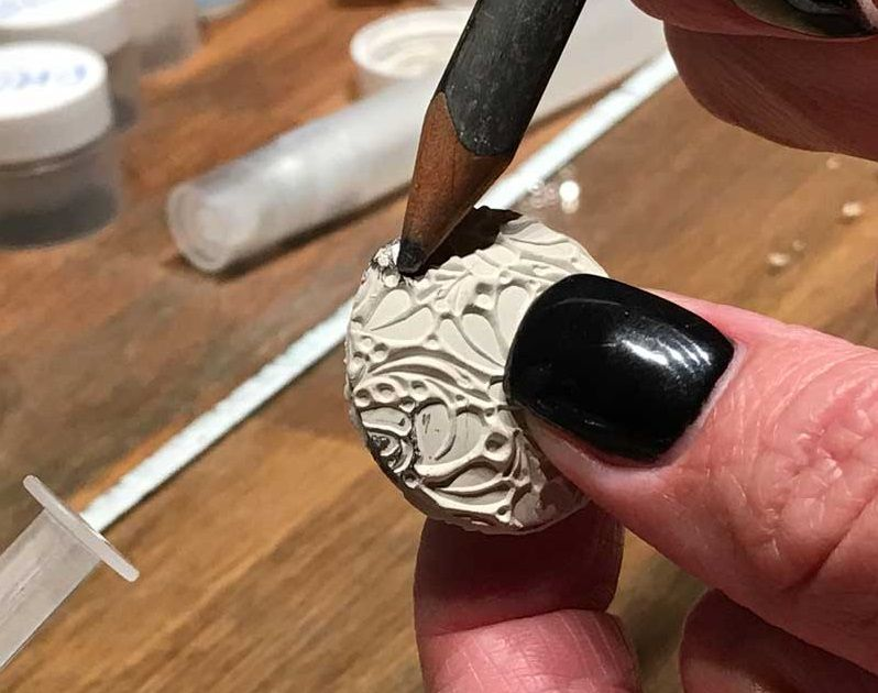 Photo of Free Metal Clay Jewelry Project: Make a Lentil Pendant