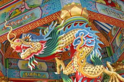 The Imperial Chinese Dragon is one of the most revered in Chinese mythology because it carried with it the promise of rain.