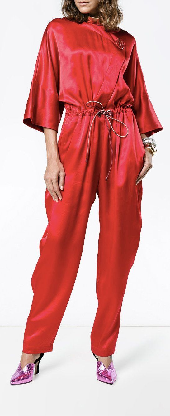Buy Cheap New Arrival Roksanda Tamiko silk jumpsuit Hyper Online Cheap Sale Affordable SyoLPY3