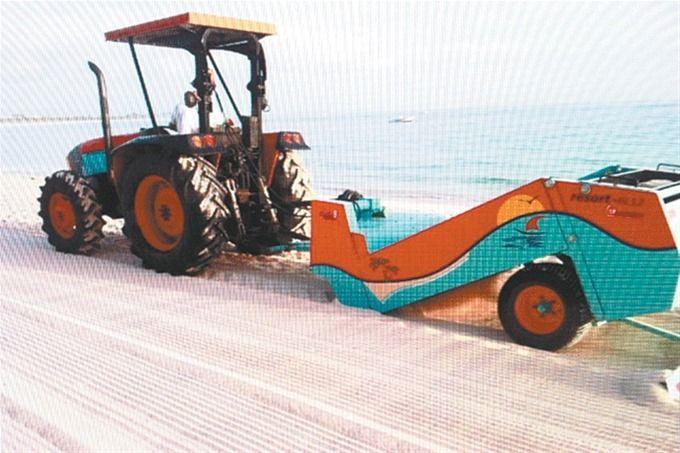 Presentan Sistema De Limpieza Arena De Playas Arena Limpieza Santo Domingo