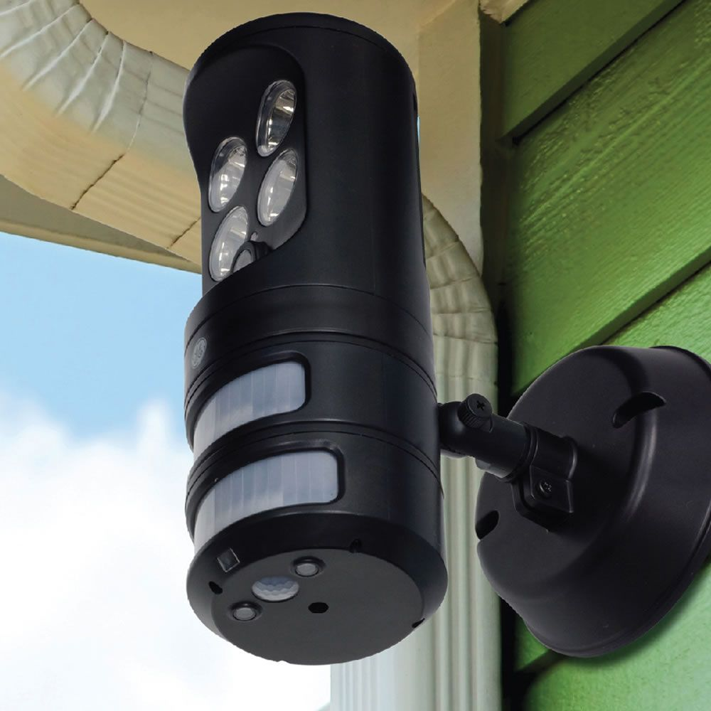 The Motion Tracking Security Light Hammacher Schlemmer