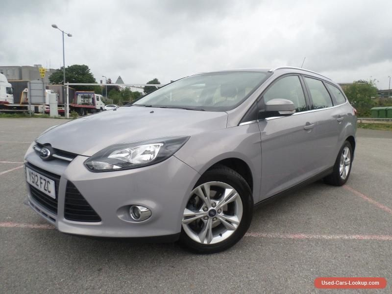 Car For Sale Ford Focus 1 6 125 Zetec Powershift Automatic Estate