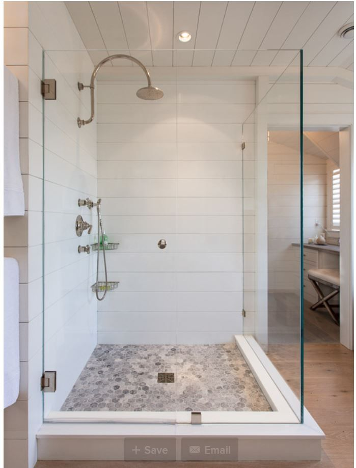 Scored Corian Shower Walls From Houzz Com Bathroom Remodel