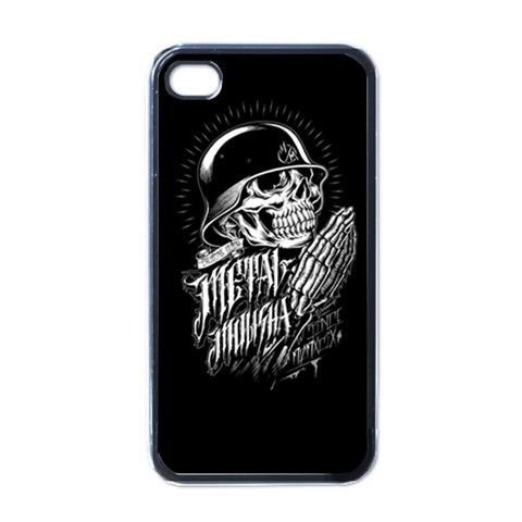 Apple iPhone Case - Metal Mulisha Malevolent Skull - iPhone 4 Case #iphone4case #Accessories #cover
