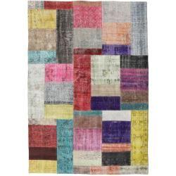 Photo of Patchwork Teppich 159×229 Moderner Teppich