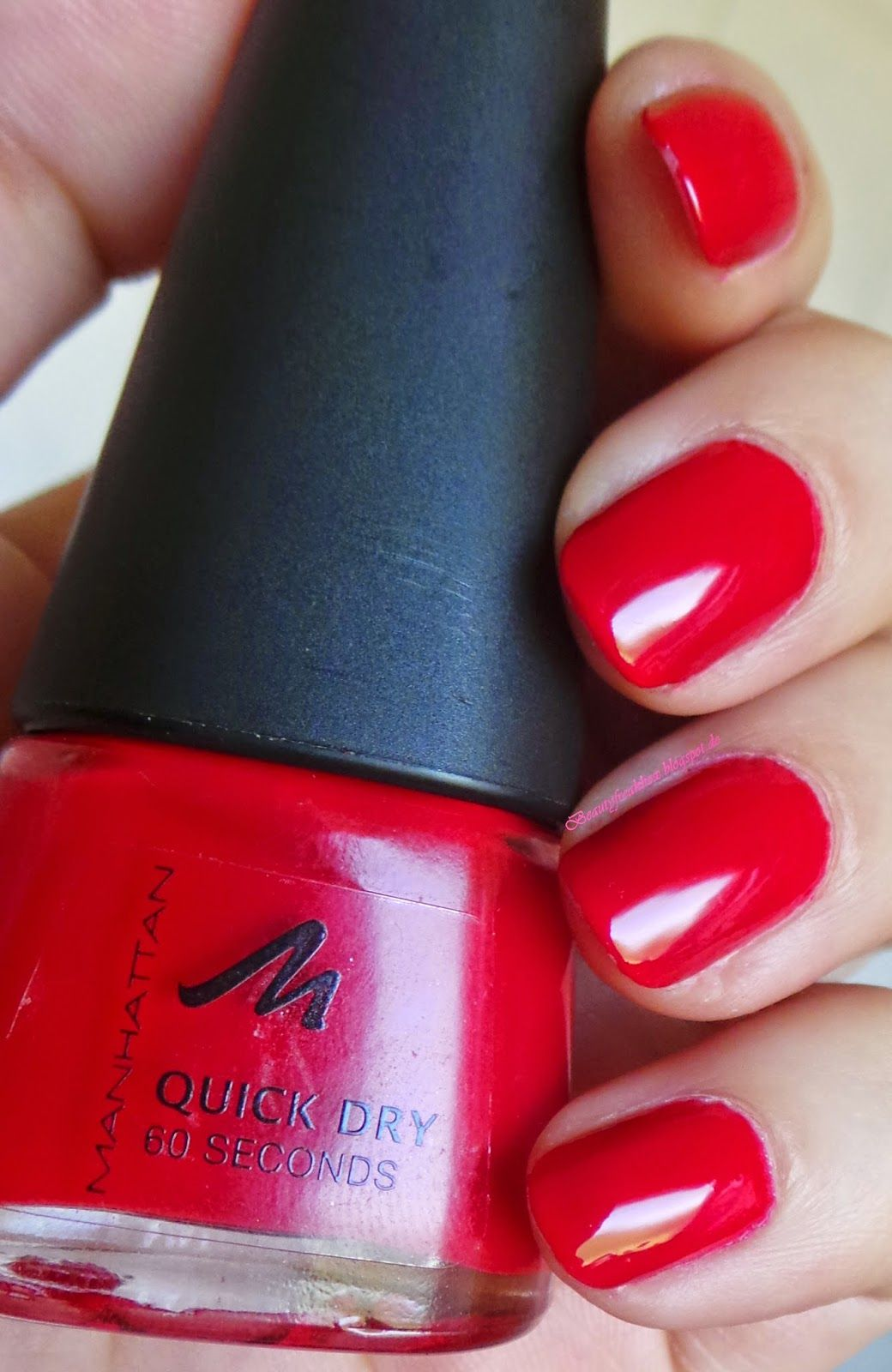 Beauty Freak Box: Manhattan Quick Dry 60 Seconds Nail Polish - 44s ...