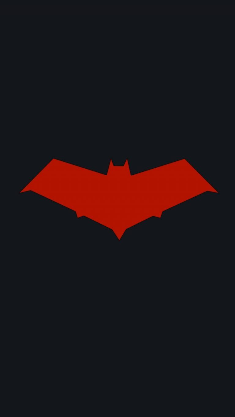 Batman Logo Iphone Wallpapers Red Hood Wallpaper Hood