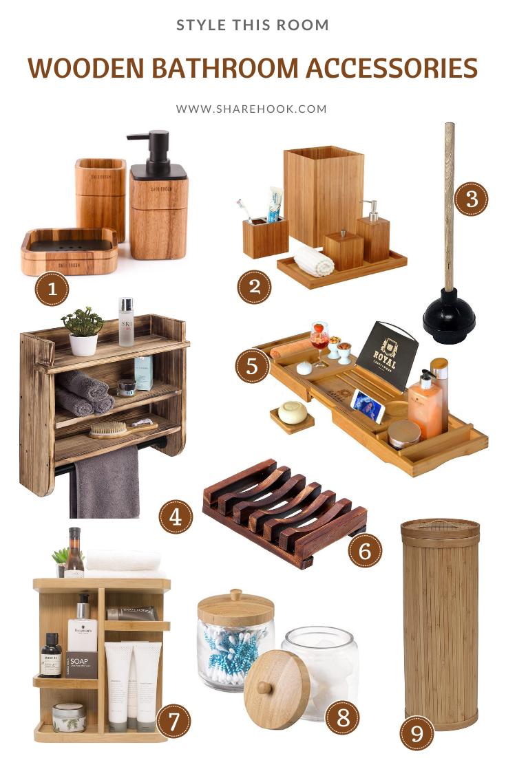Wooden Bathroom Accessories Wooden Bathroom Accessories Wooden Bathroom Bamboo Bathroom Accessories