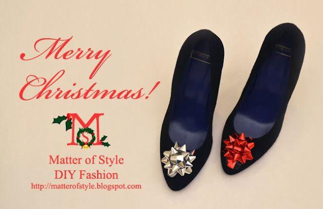 Christmas Shoes Diy.Diy Gift Bow Christmas Shoes Diy Shoes Diy Fashion