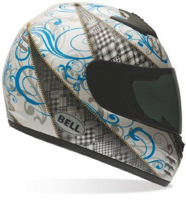 Amazon com: Bell Women's Arrow Zipped Full Face Motorcycle Helmet