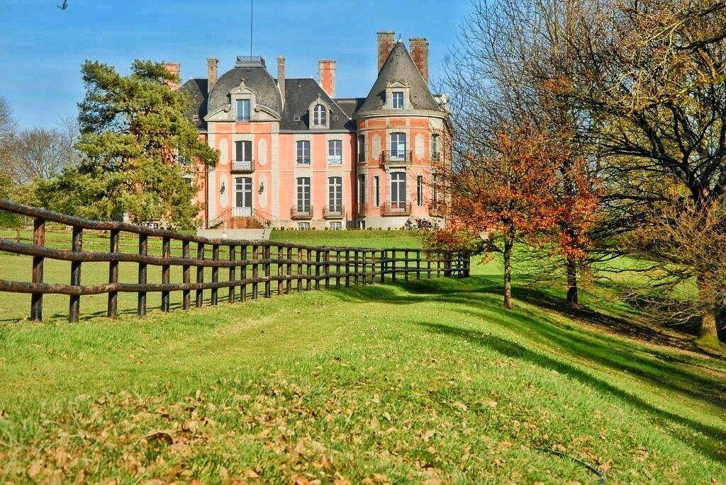 Parc et Château de Chantore Normandie France MontSaint