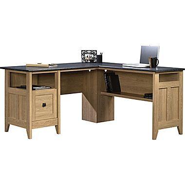 Sauder August Hill L Desk Oak Staples L Shaped Office Desk L Desk L Shaped Executive Desk