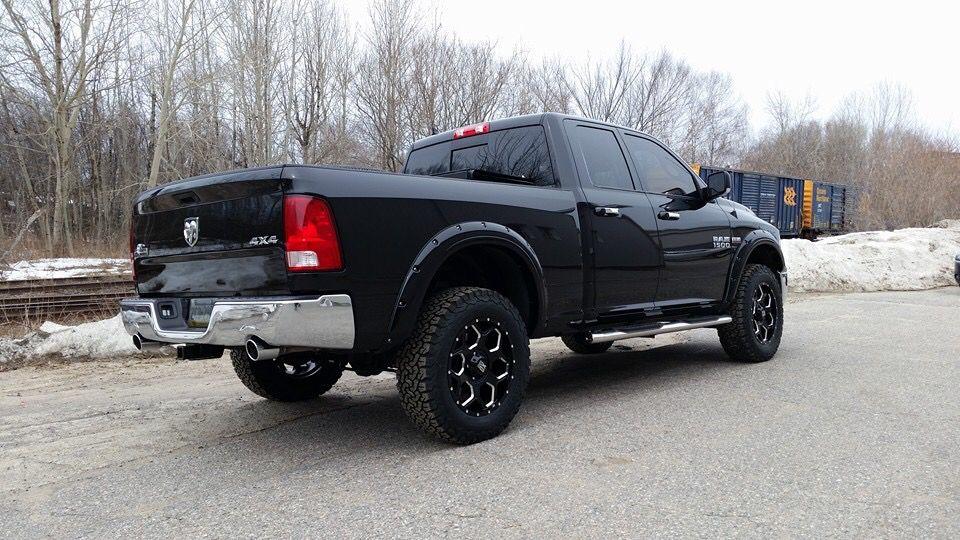 "Ram 1500 Running Boards >> Ram 1500 4"" Lift XD wheels BFG Tires 4"" running boards | Dodge Ram 1500 4"" lift XD wheels 35 ..."