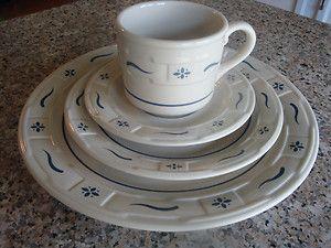 Longaberger Pottery- classic blue & Longaberger Pottery- classic blue | For the Home | Pinterest ...