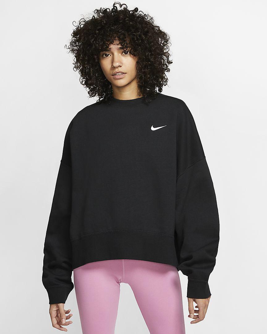 Nike Sportswear Essentials Women S Fleece Crew Nike Com Womens Fleece Nike Sportswear Sportswear [ 1080 x 864 Pixel ]
