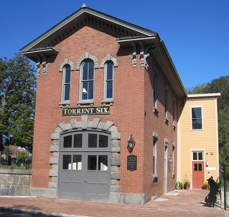 Boston S Oldest Remaining Fire House The Eustis Street Fire House